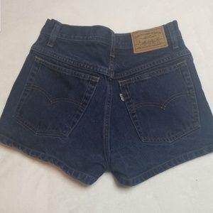Levi's | Super High Rise Vintage 900 Series Shorts